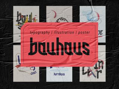 Bauhaus Typography Poster