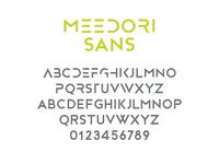 Meedori Sans - Free Font