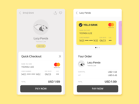 Daily UI #002-Credit Card Checkout