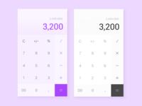 Daily UI #004-Calculator