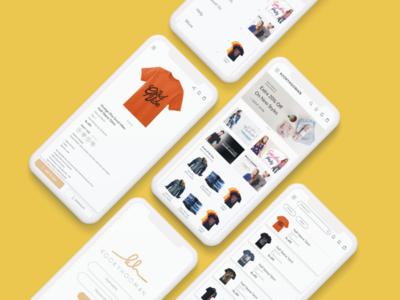 Mobile App UI (kookyhooman)