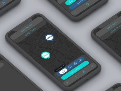 passenger app redesign for snapp