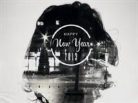 Double Exposure - Happy 2013