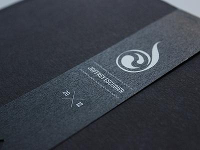 Personal Portfolio autopromo portfolio print typography black and white book paper logo