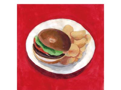 hamburger / ハンバーガー