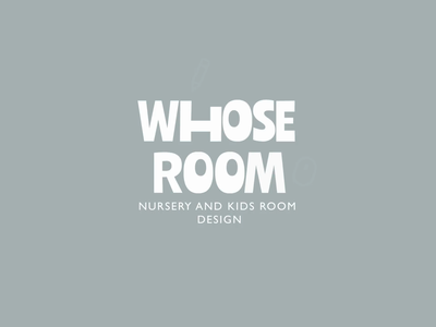 Whose Room aftereffects sketch animation branding design logo