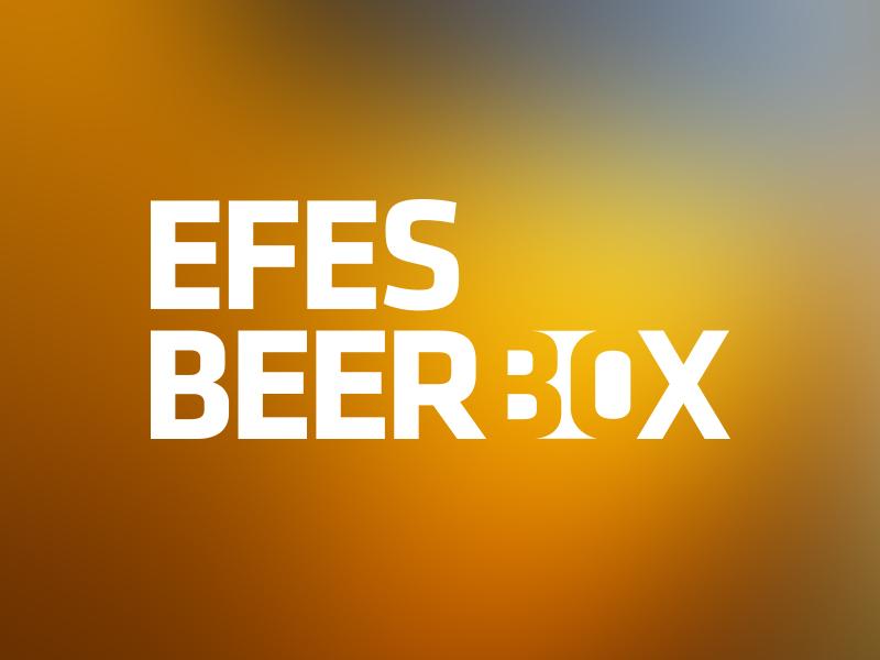 Logo Design for Efes Beer Box logo beer box efes