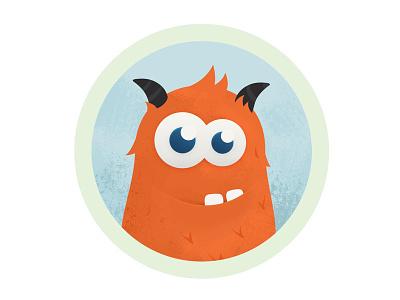City's Monster photoshop character monster orange