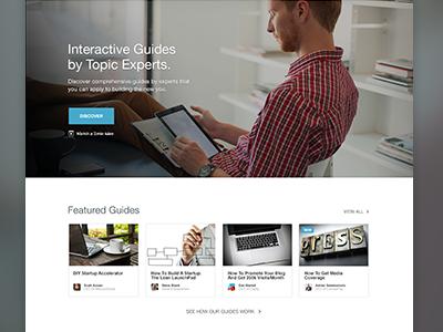 Accelio Homepage website web design homepage landing page app design layout web