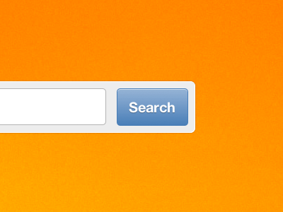 Search Button css3 style button field search blue form orange