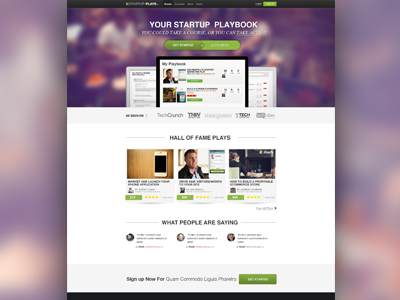 Startupplays Homepage homepage design website brand startups screenshots ui interface app web landingpage