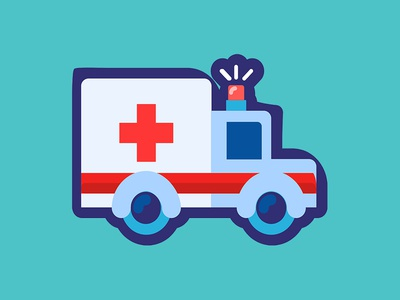 Vector Ambulance illustration