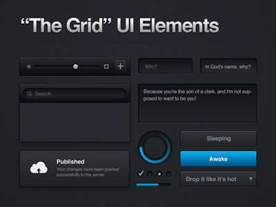 The Grid UI Elements