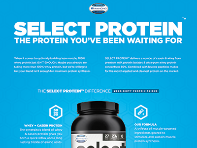 Select Protein Ad