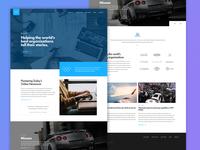 Wieck Site user interface ui ux agency responsive website typography minimal clean web gotham design