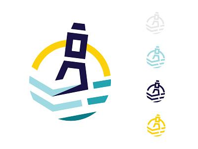 Buoy logo exploration icon branding logo illustration