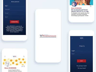 Design App | WcN mobileapps mobile ui typography interface design user interface
