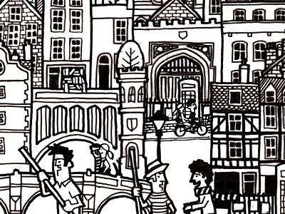Screenshot 2014 06 19 08.25.14 illustration sketch blimp city scape