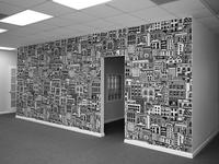 Wall decal mockup