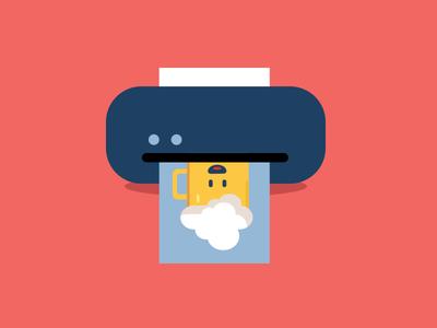 Heiny printer