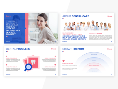 Presentation Design For Dental Care