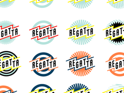 making logos, lots of logos contest vintage logodesign circle graphic banner electricity theatre