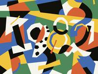 Mi Año Favorito - Podcast Cover (proposal) podcast cover podcast art podcast illustration 2d amatita amatita studio color 2020 design collage art typographic typography