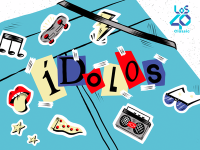 "Podium Podcast - ""Ídolos"" Podcast Cover legend podcast art podcasting artwork cover color song family music design amatita character amatita studio 2d illustration"