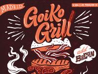 Goikogrill poster