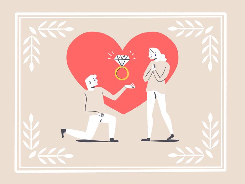 💍 heart love ring draw brushes 2d design amatita studio illustration