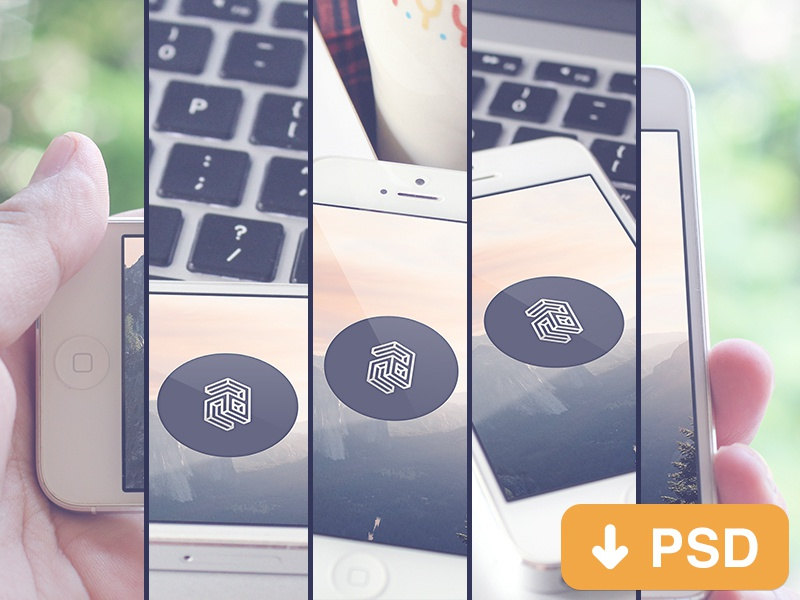 free video downloader for iphone freebies mockup iphone 5 by camcam dribbble dribbble 16980