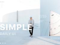 Simple daily ui
