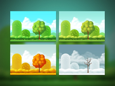 Swoop Backgrounds ios game backgrounds