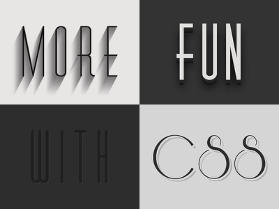 Elegant CSS Styles css font-face styles