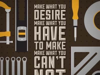 Skillshare Poster 2 poster tools skillshare brown type