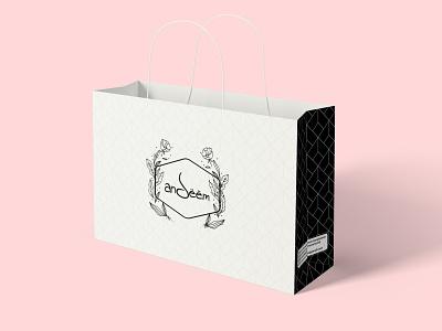 Shopping Bag Design logo brandidentity branding design fashion branding design bag shopping bag design