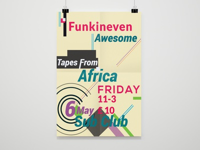 Poster/Graphic Design/ Typography