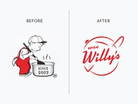 Wee Willy's Logo Refresh