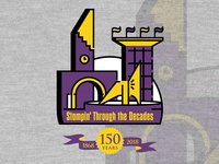 150th Homecoming logo
