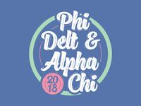Phi Delta Theta and Alpha Chi Omega