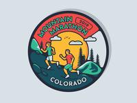 Mountain Marathon Medal