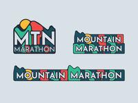Mountain Marathon Logos