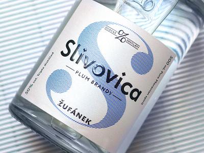 Zufanek spirits redesign graphic design alcohol label czech packaging design