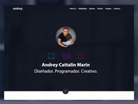 Andrey Marin CV (header)