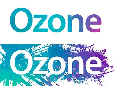 Ozone - Logo e-commerce simple plataform responsive flat aplication desktop app web design