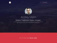 MyWALL Theme, Resume/CV