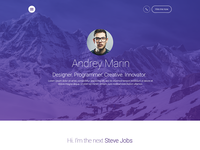 MyWALL Theme v2, Resume/CV
