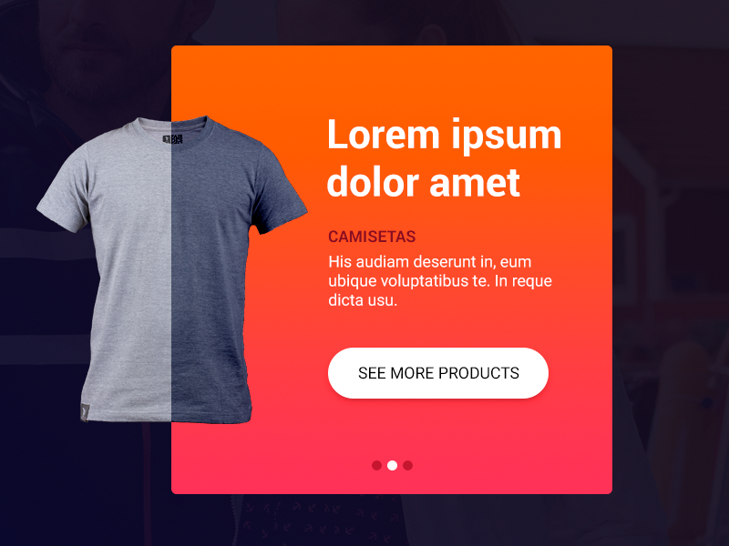 Mini product slider web norway product clothes slider shop design