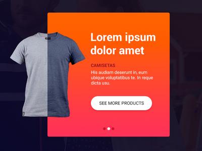Mini product slider