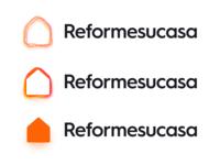 House renovation & Decoration - Reformesucasa Logo decoration renovation house home flat design logo